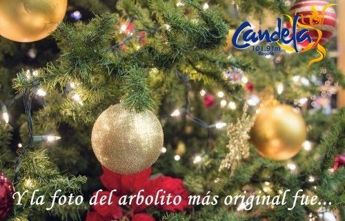 Cámara digital para el mejor arbolito de Navidad Candela
