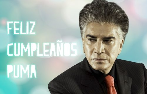 """Homenaje a José Luis Rodríguez """"El Puma"""" en su cumpleaños"""