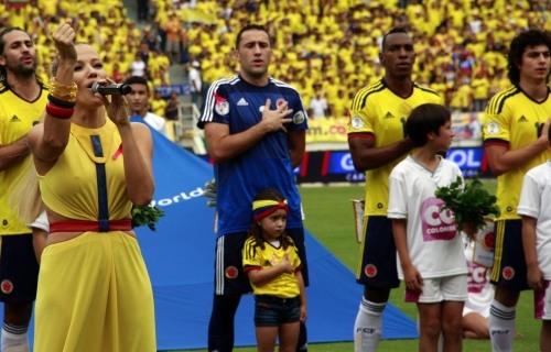 Fanny Lu interpretará el himno de Colombia pero en el mundial