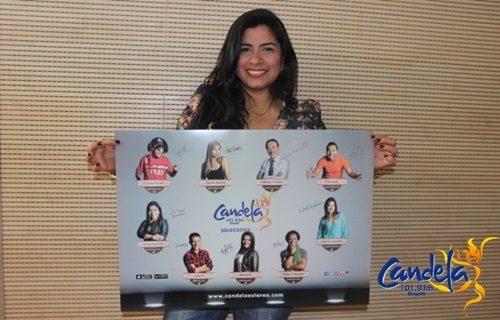 Llévate el nuevo afiche de Candela