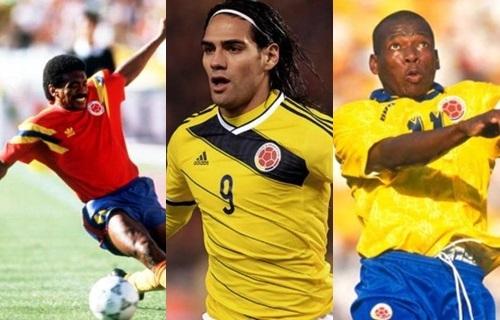 Los goleadores de la Selección Colombia