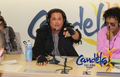 Visita de Carlos Vives a Candela