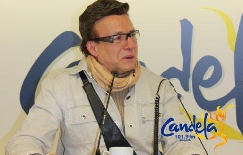 Así fue la visita de Jairo Martinez a Candela