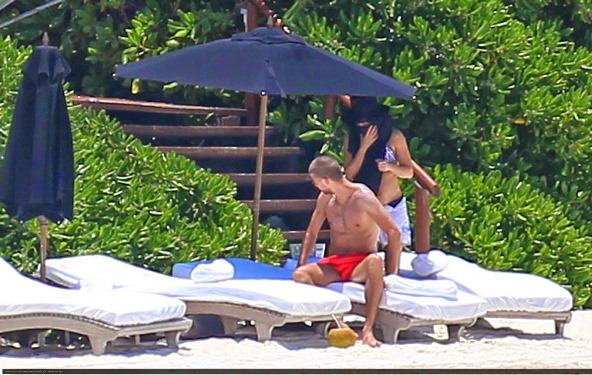 Shakira y Gerard Cancún