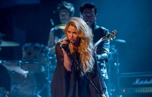 Shakira en la clausura del Mundial