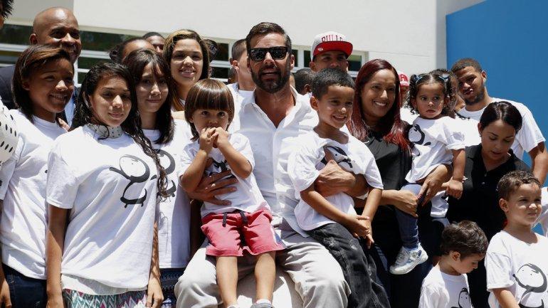 Ricky Martin fundacion