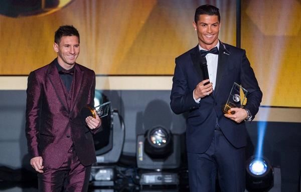 balond de oro Messi y Ronaldo