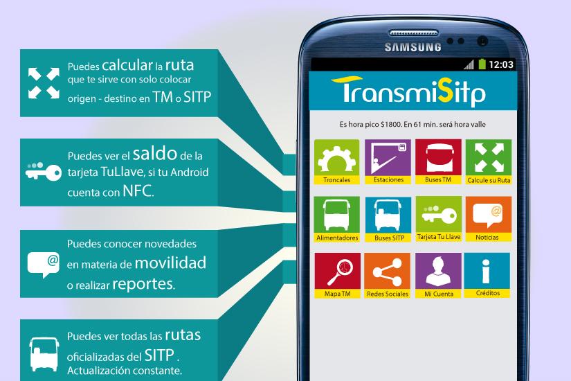 Aplicación Android para ver el saldo de la tarjeta TuLlave