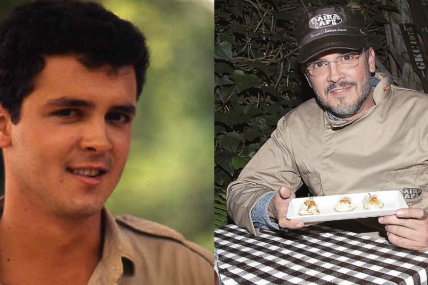 Imagen de Guillermo Vives antes y después