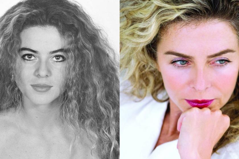 Imagen de Margarita Rosa de Francisco antes y después