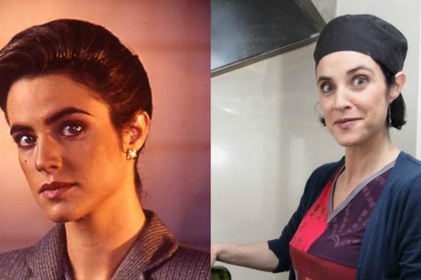 Imagen de Silvia de Dios antes y después