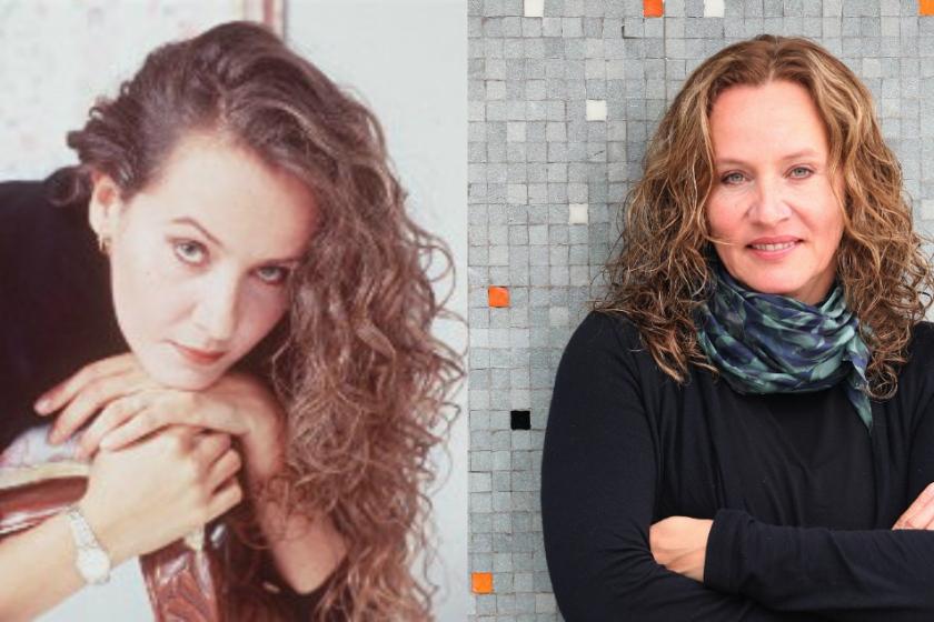 Imagen de Alejandra Borrero antes y después