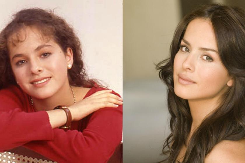 Imagen de Danna García antes y después