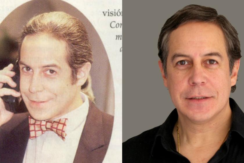 Imagen de Santiago Bejarano antes y después