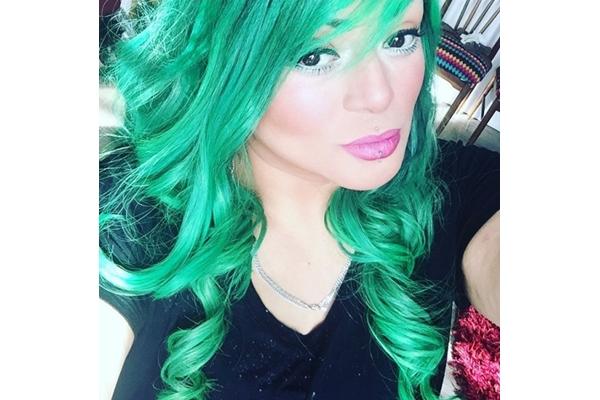 Pelo marbelle verde