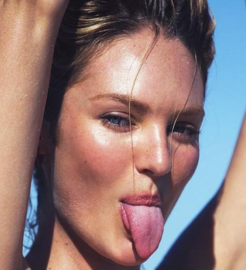 Candice Swanepoel sin maquillaje y al natural