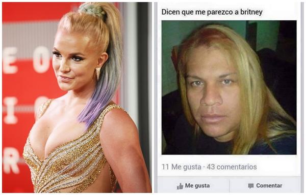 Dicen que me parezco a Britney