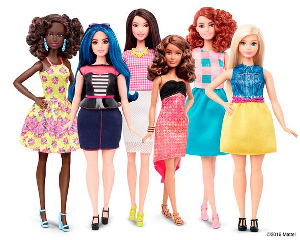 Barbie con curvas