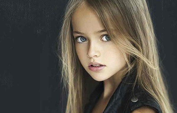 Ella es la niña más linda del mundo