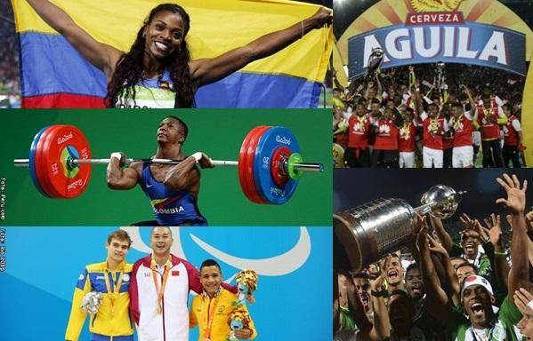 Los deportistas colombianos que sacaron la cara en el 2016