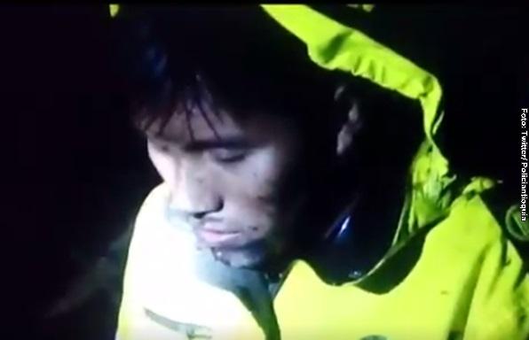 Conmovedor video del sobreviviente del Chapecoense