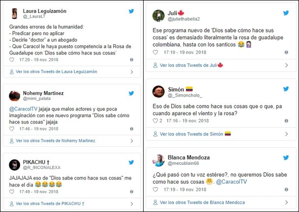 Críticas en las redes a copia de La Rosa de Guadalupe