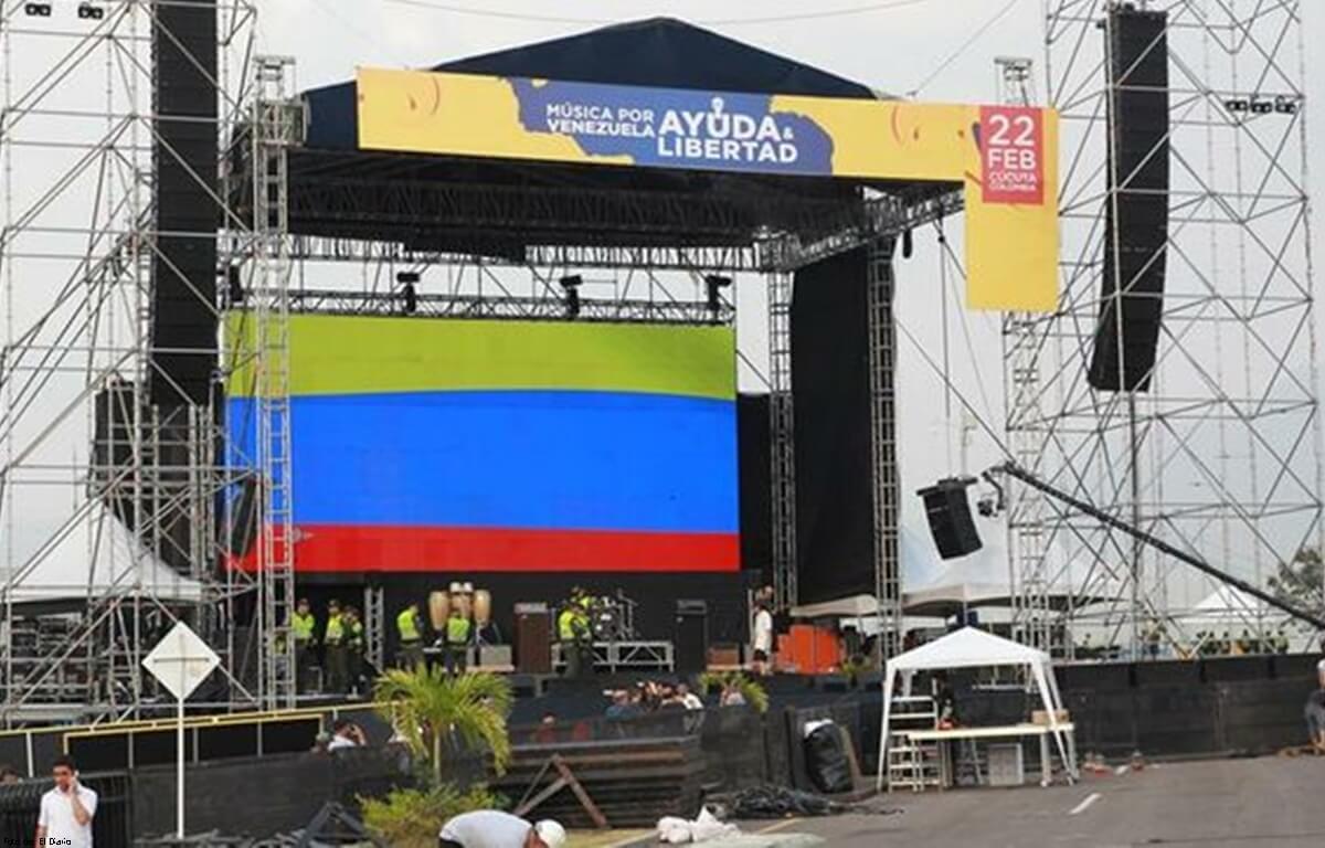 Así será el concierto Venezuela Aid Live
