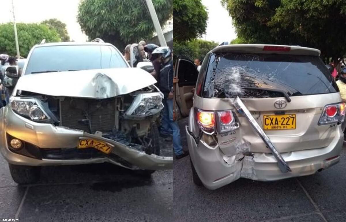Cantante de vallenato sufrió un grave accidente de tránsito