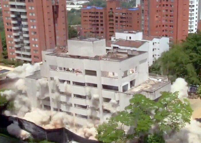 Fantasma en el edificio que vivía Pablo Escobar