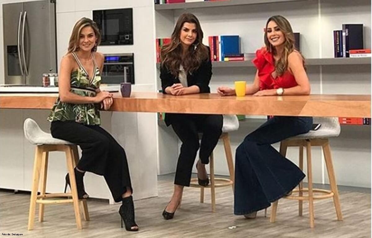 Presentadoras de Día a Día estrenan set sin Mónica Rodríguez