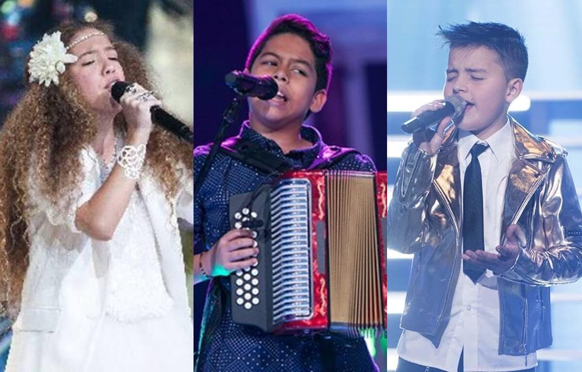 Antes y después de los ganadores de La Voz Kids