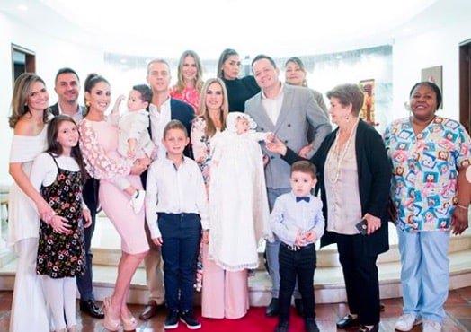 Foto de la familia de Carolina Soto