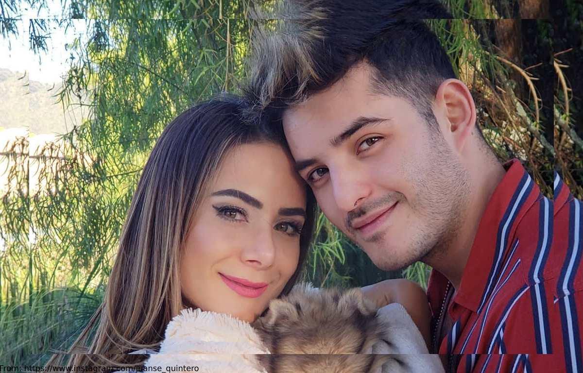 El caliente lío de Juanse Quintero con el body de Johanna Fadul