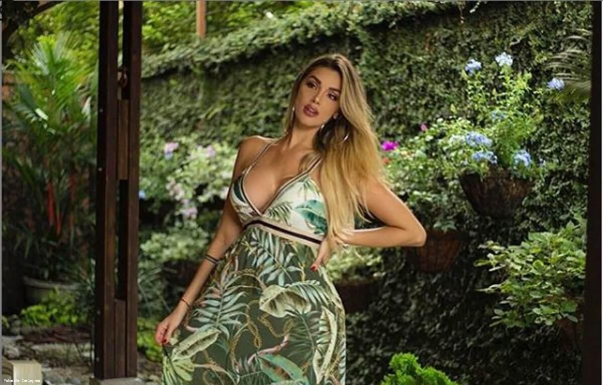 Fotos de Melina Ramírez cuando fue señorita Valle