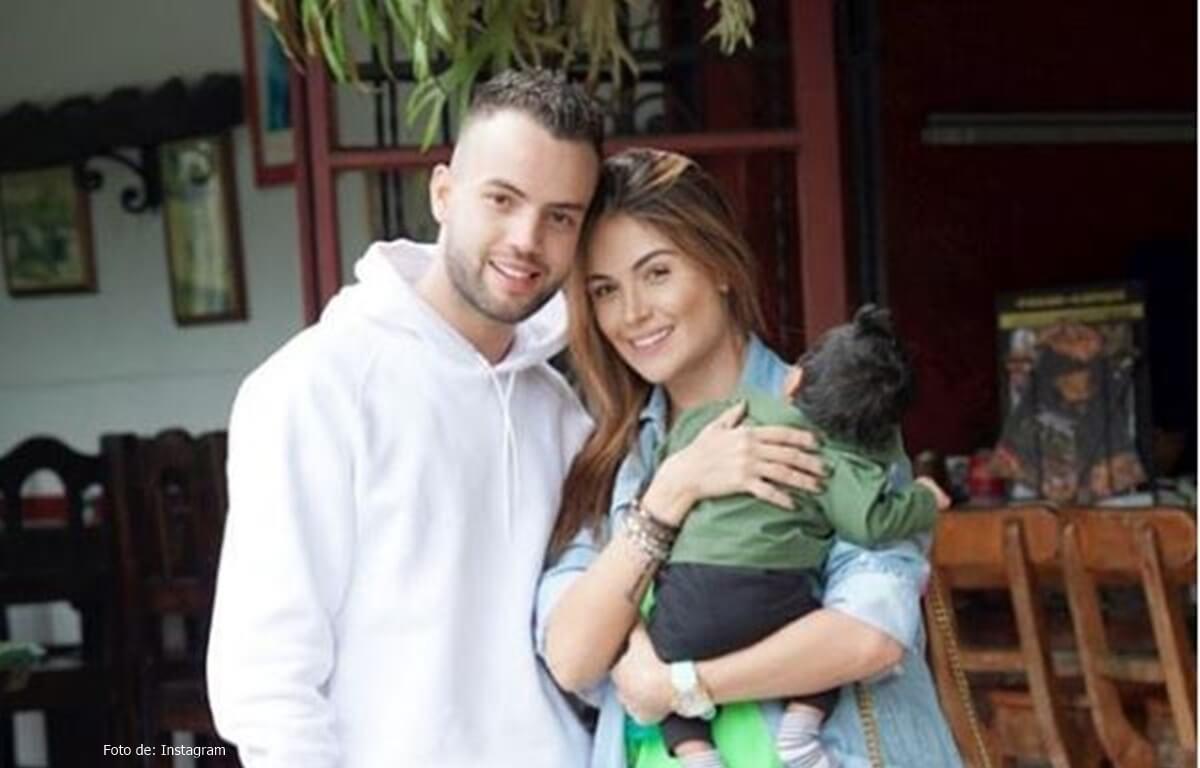 Una foto familiar dejó al descubierto la cara del hijo de Sara Uribe