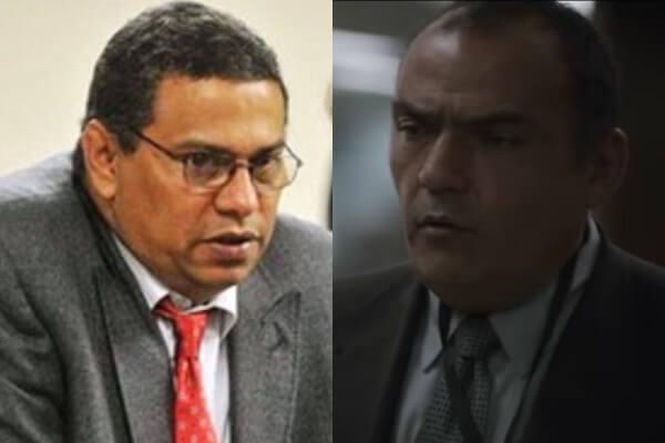 El fiscal del Caso Colmenares y el actor que lo interpreta