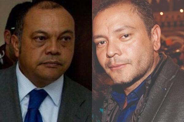 Papá de Luis Andrés Colmenares y el actor que lo interpreta