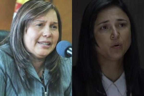Mama de Luis Andrés Colmenares y la actriz que la interpreta