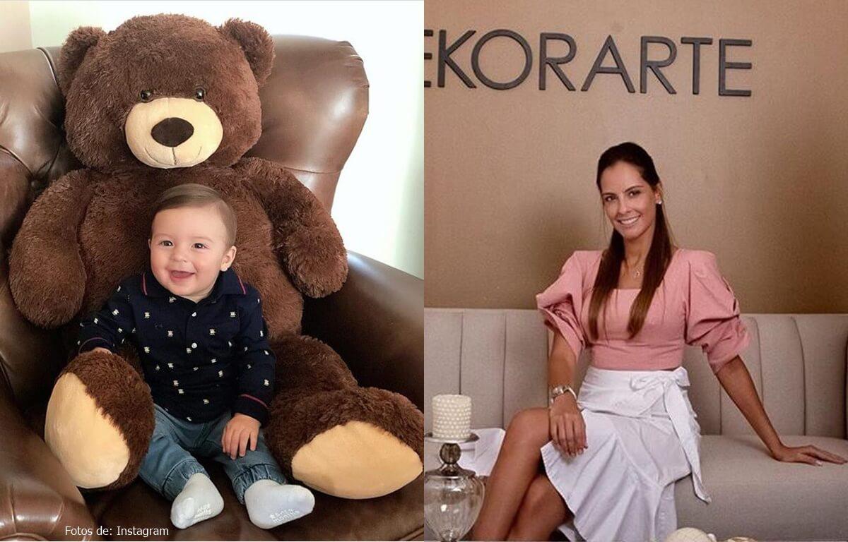 El hijo de Laura Acuña cautivó a más de uno con solo 9 meses