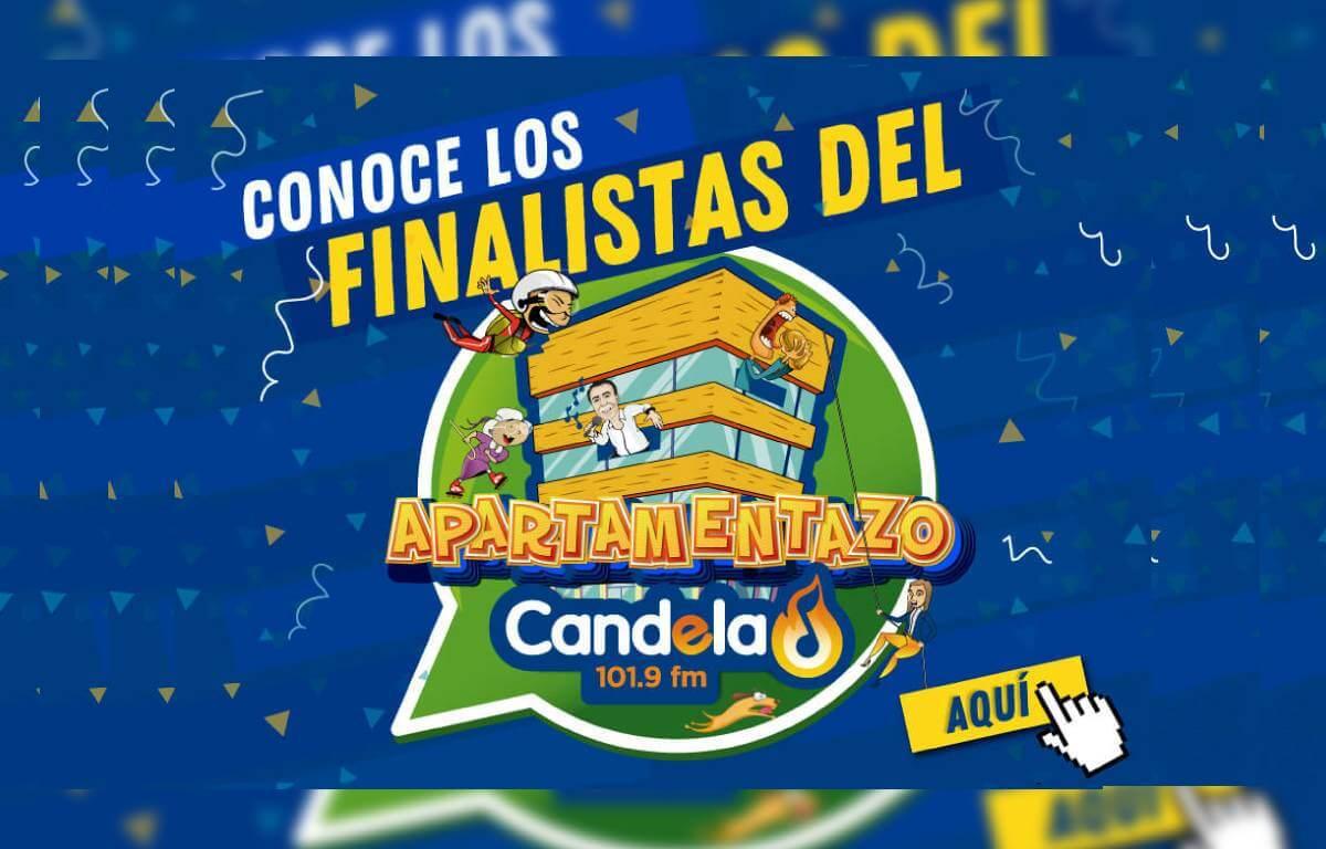 Imagen para conocer los finalistas del apartamentazo Candela