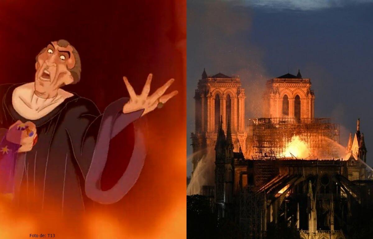 Los memes del incendio de la catedral de Notre Dame