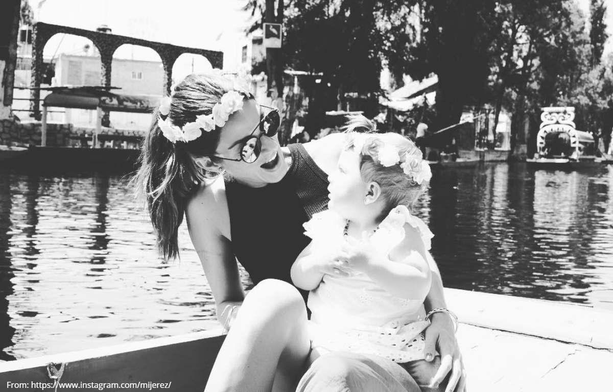 Natalia Jeréz conmovió por salud de su pequeña hija
