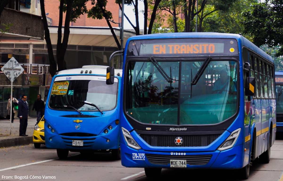 Se presentó otro desconcertante atraco en bus del SITP