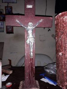Cristo que llora sangre en Colombia