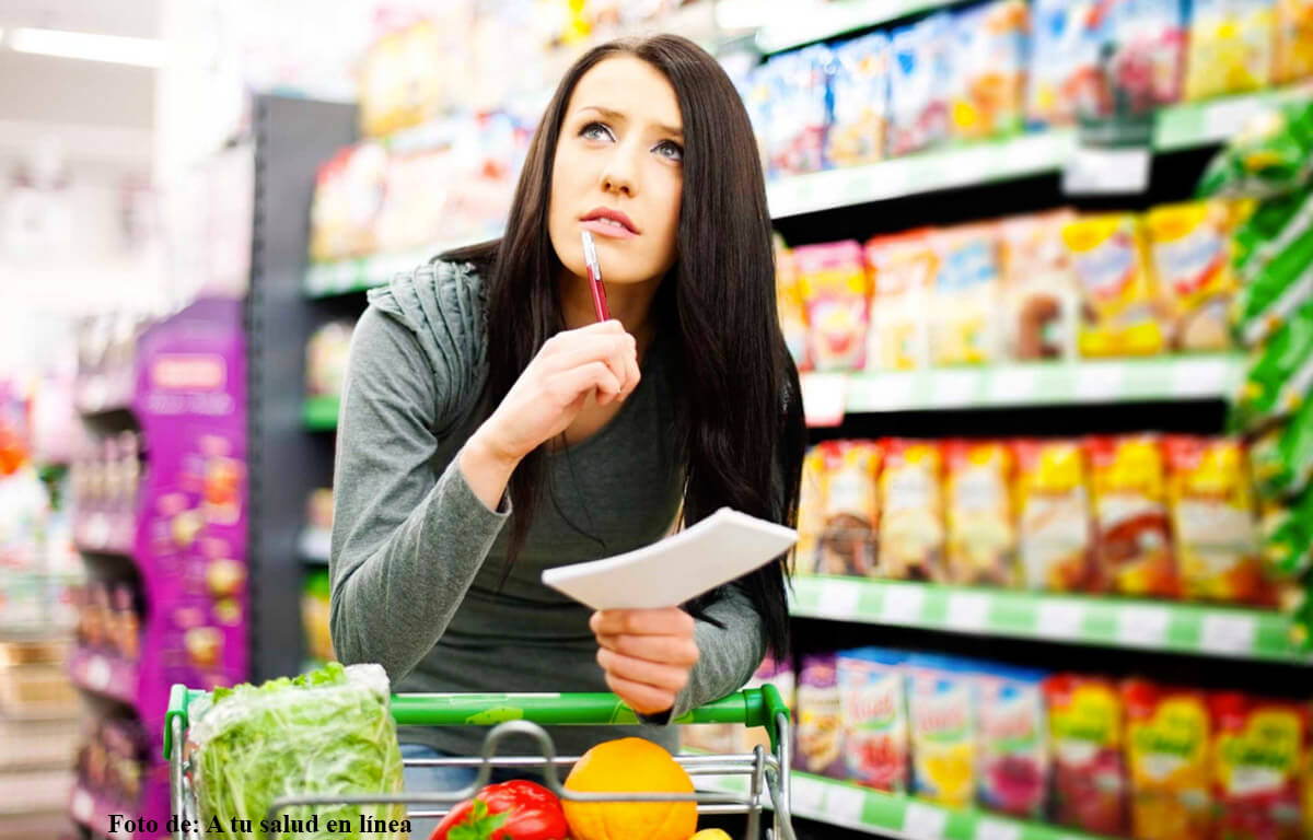 ¿Cómo hacer una lista de mercado saludable?