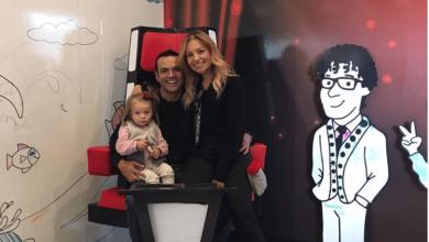 Conmovedora foto de Juan Diego Alvira con su hija