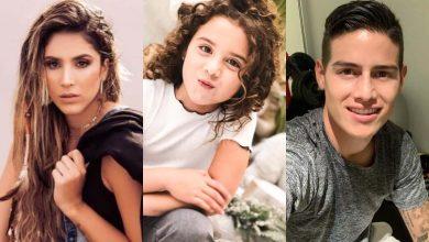 James Rodríguez y Daniela Ospina celebran por su hija Salomé