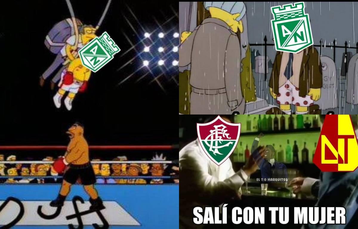 Nacional fue goleado en Brasil y estos son los mejores memes