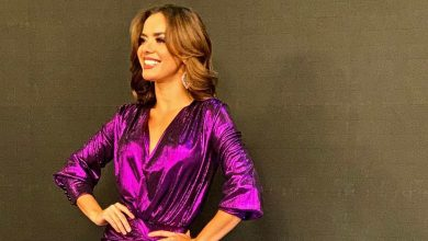 Elianis Garrido mostró de más con sensual vestido de gala