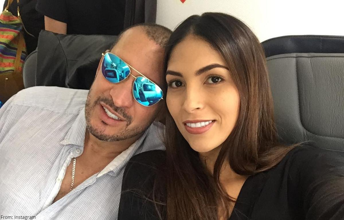 """Gran sorpresa por la joven novia del """"Flaco"""" Solórzano"""
